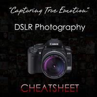 DSLR Photography Cheat Sheet