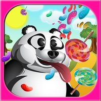 Hungry Panda and Animal Friends Run - How many Lollipop and Jellybeans can you find on the way?