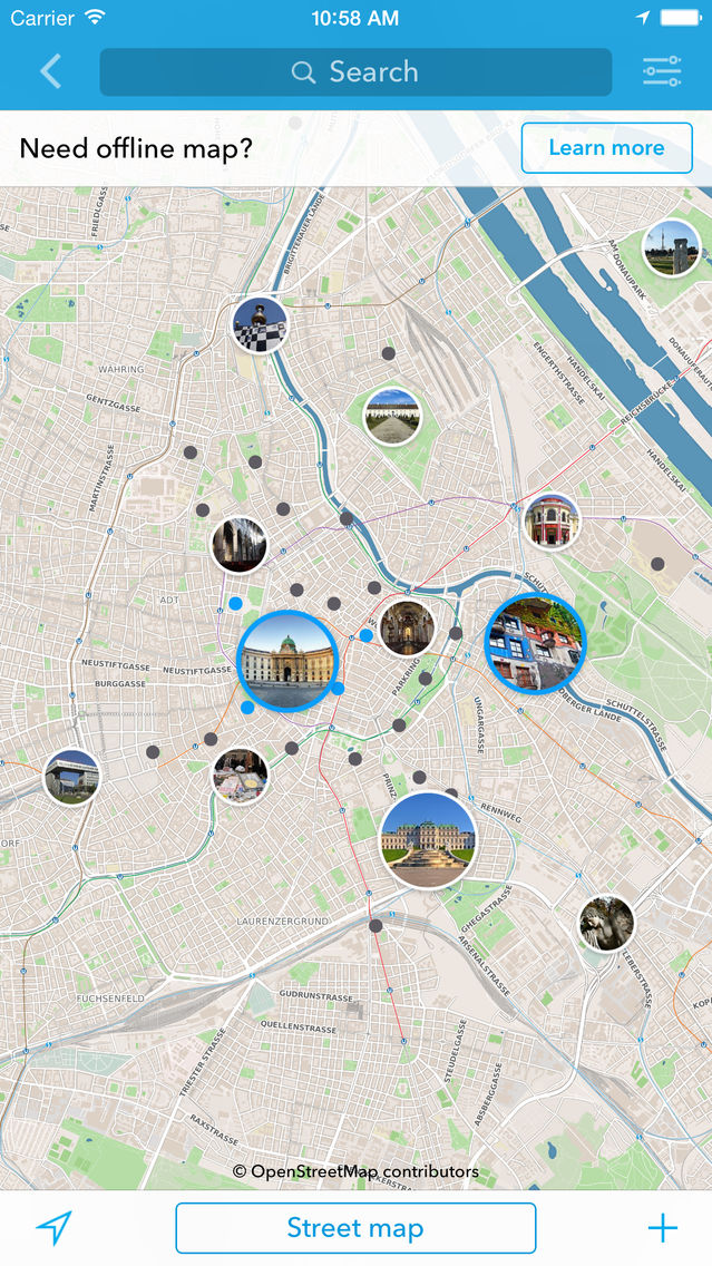 Vienna Travel Guide & Offline City Map App for iPhone - Free ... on