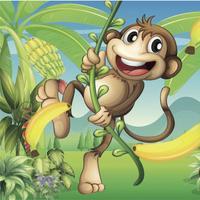 Mega Monkey Jungle Run - Banana Tree Jumping World Free