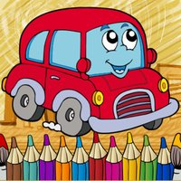 Vehicles Coloring Page Free-Fun Painting Good Kids