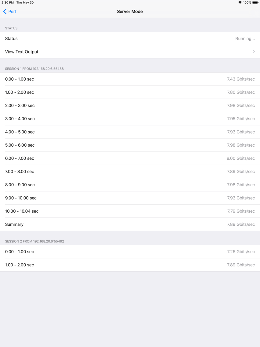 iPerf - Speed Test Tool App for iPhone - Free Download iPerf - Speed