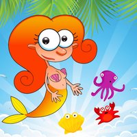 Puzzles Match 3 Mermaid and Sea Animals