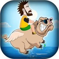 Extreme Aerial Farm Hog Rider - Hillarious and Crazy Fun Pig Flying Simulation Mania