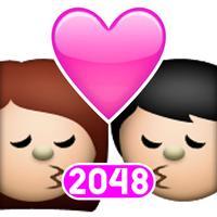 2048 Love Emoji
