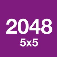 2048 5x5 Puzzle Free Game - Purple - 512 1024 2048 4096 8192