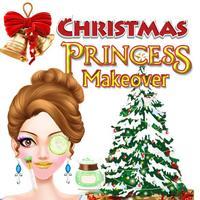 Christmas Princess MakeOverForKids