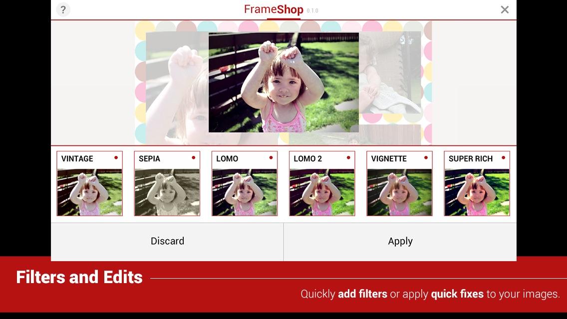 FrameShop Lite - Photo Frame Editor HD App for iPhone - Free