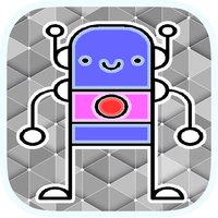 Fun Space Robot Coloring
