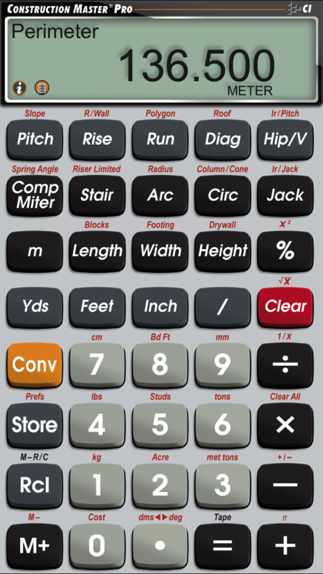 construction master calculator free download iphone