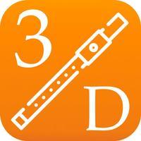 3D Flute Fingering Chart