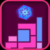 Tricky Unicorn Six! Hexagon Block Game