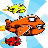 Adrenaline Crush - Cartoon Airplane Pilot in the Sky