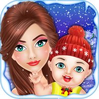 Christmas Mommy & NewBorn Baby - Girls Games Free