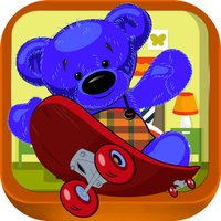 Teddy Bear Heart Couple - Stuffed Toys Skateboard Adventure (Free)