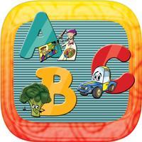 ABC Genius Toddler alphabet flash cards