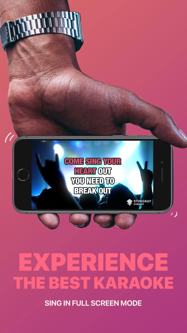 Sing with Stingray Karaoke App for iPhone - Free Download