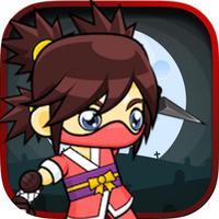Super Ninja VS Zombie - Run And Fight In Graveyard
