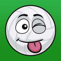 VolleyMoji - volleyball emoji & stickers keyboard
