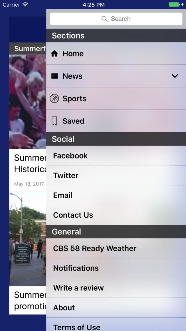 CBS 58 News App for iPhone - Free Download CBS 58 News for