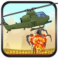 Bomb Drop flying helicopter action game