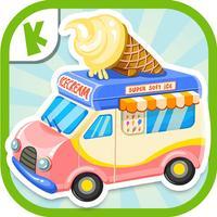Ice Cream Truck:(Mandarin) Educational Puzzle Game