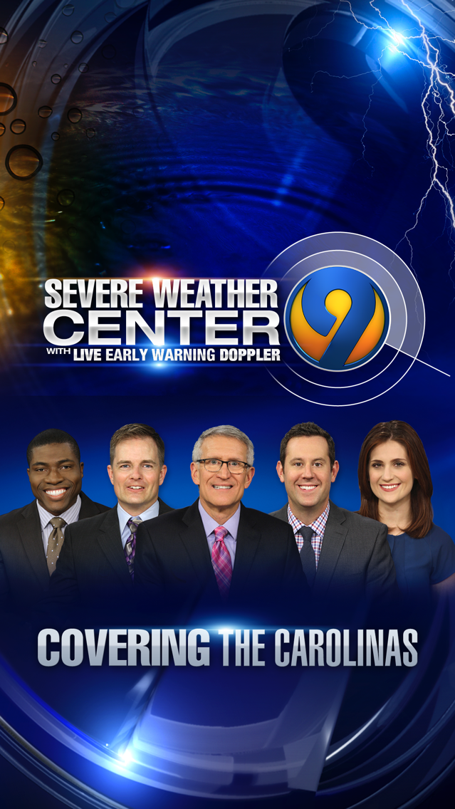 WSOC-TV Channel 9 Weather App App for iPhone - Free Download