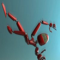 Save Flying Robot