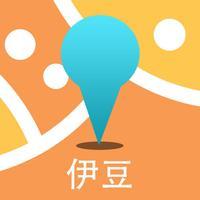 伊豆中文离线地图-日本离线旅游地图支持步行自行车模式