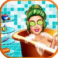Beauty salon make up - Girls Games