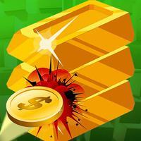 GOLD BRICK BREAKER : Ball Shooting HD