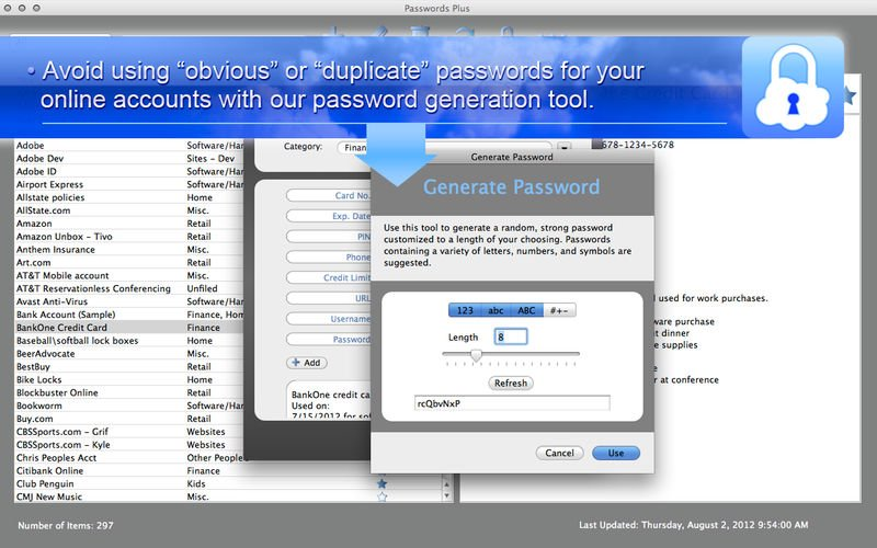 Passwords Plus - Free Secure Vault App for iPhone - Free