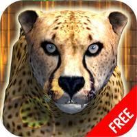 Wild Cheetah Simulator Game - Animals Survival 3d