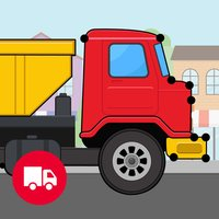 Trucks Connect the Dots and Coloring Book for Kids