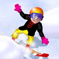 Snowboard Speed Race