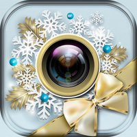 Christmas Photo Frames Edit.or with Xmas Sticker.s