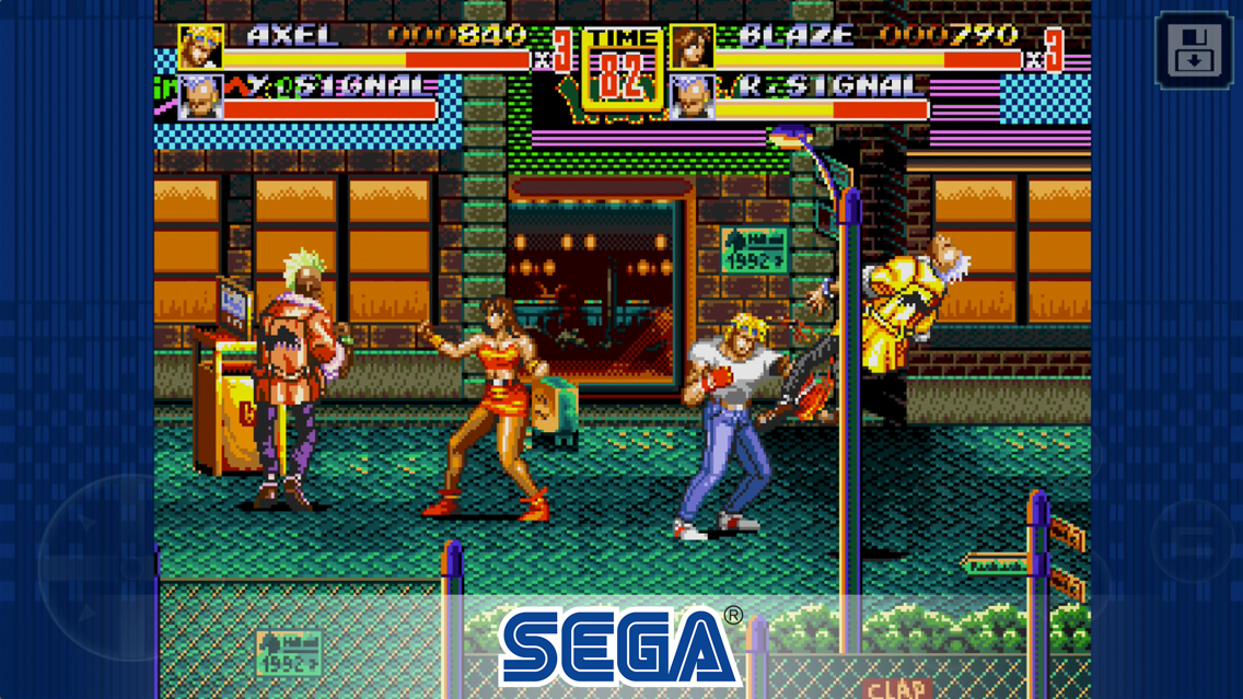 Streets of Rage 2 Classic App for iPhone - Free Download