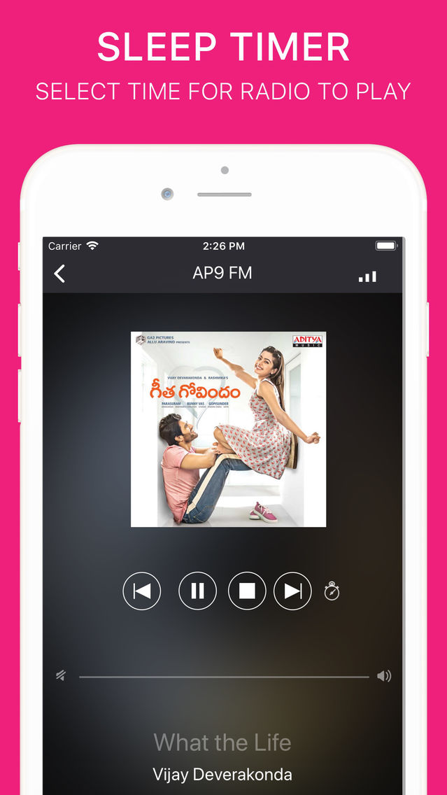 Telugu Radio Pro - Indian FM App for iPhone - Free Download Telugu