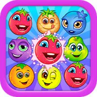 Sweet Fruit Jelly Land : Amazing Match 3 Pop Game