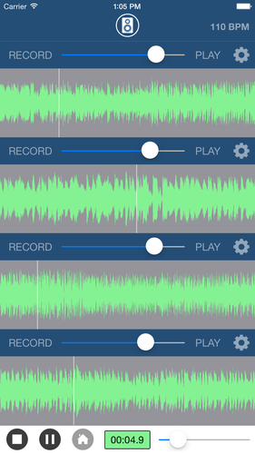 Multi Track Song Recorder App for iPhone - Free Download Multi Track