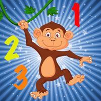 Easy Monkey Math: Free Basic Lessons Game
