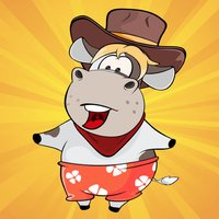 Dancing Cow - Animated Stickers
