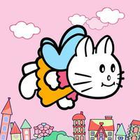 Flying Kitty's Fly Adventure - Fly with Adventurous Tiny & Cute Kitty