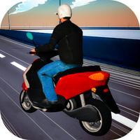 3D Scooter Racing