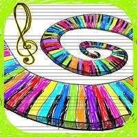 Doodle Sounds - Paper Piano