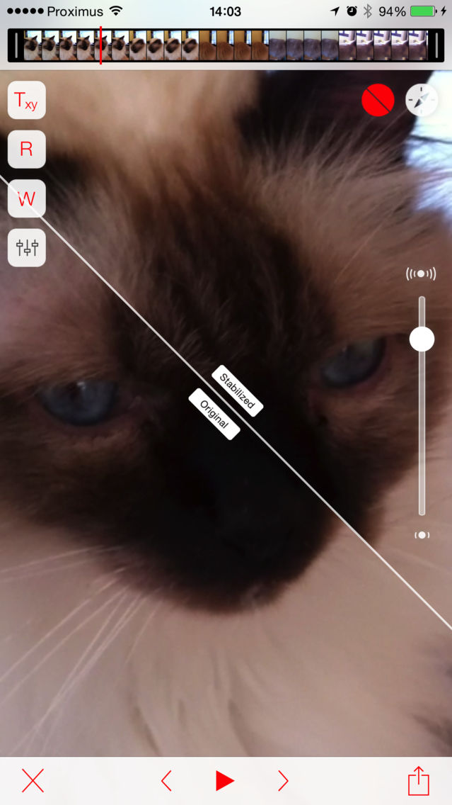 Emulsio - Video Stabilizer App for iPhone - Free Download