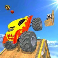 Monster Truck Ramp Stunt