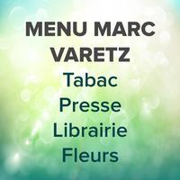 Menu Marc Varetz
