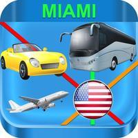 Miami Metro Rail Maps