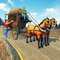 Offroad Horse Taxi Driving